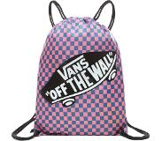 Vans Benched Bag blue sapphire/strawberry pink checkerboard