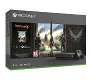 Microsoft Xbox One X 1 TB + The Division 2