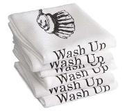 Ddddd Theedoek DDDDD Wash Up White (set van 6)