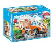 Playmobil 70049 Playmobil City Life ambulance en ambulanciers 70049