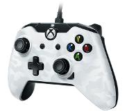 PDP Wired Deluxe Controller Xbox One/PC (Wit)