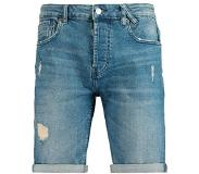America Today regular fit jeans short Blauw M