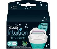 Wilkinson Sword Intuition Scheermesjes - Sensitive Care 3 stuks
