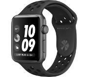 Apple Watch Series 3 Nike+ 42mm Space Gray Aluminium/Zwart