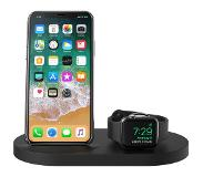 Belkin Boost Up Draadloze Oplader met USB A Poort iPhone/Apple Watch Zwart