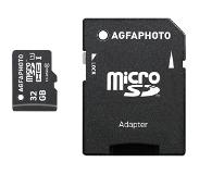 Agfa AgfaPhoto Mobile High Speed 32GB MicroSDHC Class 10 + Adapte