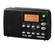 Sangean DPR-65 Basic, digitale radio, DAB+, zwart