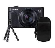 Canon Powershot SX740 HS Travel kit - Zwart