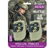 Cobra HM230G walkie talkie Hero Special forces 2-pack, groen