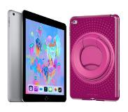 Apple iPad (2018) 32 GB Wifi + Evo Play2 Back Cover Roze