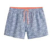 Mango zwemshort in all over print blauw Blauw/wit L