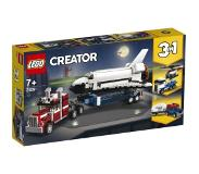 LEGO Spaceshuttle Transport Lego 31091 Per stuk