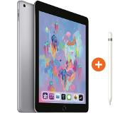Apple iPad (2018) 128 GB Wifi Space Gray + Apple Pencil