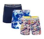 Muchachomalo 3-PACK BOYS HEAD IN THE CLOUDS, 176 (print, donkerblauw, geel, 176)