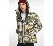 The north face Jas The North Face Men Millerton Peyote Beige Woodchip Camo-XXL