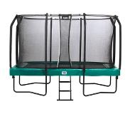 Salta Trampoline Salta First Class Rectangular Groen 214 x 366 cm + Safety Net