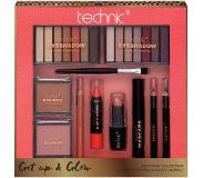 Technic »Get Up and Glow«, make up-set (9-delig)