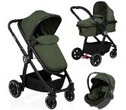 Baninni Kinderwagen Otto - 3 in 1 - Olive Green