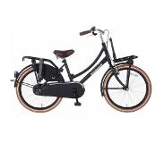 POPAL Daily Dutch Basic 22 inch Meisjesfiets Zwart