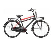 Sparta Pick Up 26 inch Jongensfiets N3 Black/Red Mat