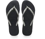 Havaianas slippers slim crystal glamour sw new graphite/zilver-35-36 (35-36)