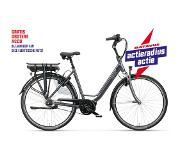 Batavus Wayz E-go Active Plus Exclusive damesfiets 8V Grijs