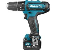 Makita HP331DSME Klopboor-/schroefmachine | 108v 4.0Ah Li-ion schuifaccu in M-box