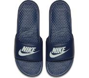 "Nike Benassi ""Just Do It."" Sandal Slippers Unisex - Navy"