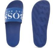 Hugo Boss Badslippers Logo Medium Blue-43
