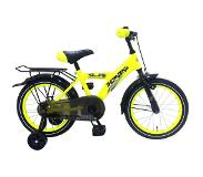 Volare Kinderfietsen Thombike 95% 16 inch Neon Yellow