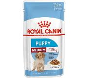 Royal Canin Shn Medium Puppy Pouch - Hondenvoer - 10x140 g