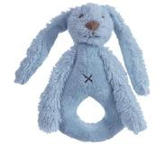 Happy horse knuffel Deep Blue Rabbit Richie Rattle - 18 cm