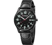 Wenger City Active Quartz Armbandhorloge Man Zwart