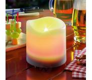 Esotec Witte LED-Solar-kaars Candle Light