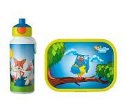 Mepal Lunchset campus (pop-up + lunchbox) - Fabeltjeskrant Acrylonitril butadieen styreen (ABS)