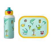 Mepal Lunchset campus (pop-up + lunchbox) - Doodle Acrylonitril butadieen styreen (ABS)