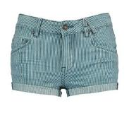 America Today Junior gestreepte short Nell blauw/wit Blauw/wit 122/128
