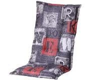 Madison Tuinkussen Madison New York Red Hoge Rug