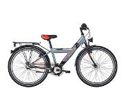 "S'Cool XYlite 24 3-S Steel Kids, darkgrey/red matt 24"" 2019 Kinderfietsen 24 inch"