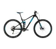 Cube Stereo 120 Race, black'n'blue 16"