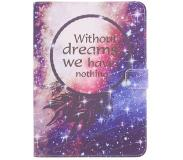 Smartphonehoesjes.nl Design Softcase Bookcase voor Samsung Galaxy Tab S3 9.7 - Without Dreams