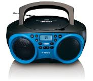 Lenco SCD-501 Portable CD player Blauw
