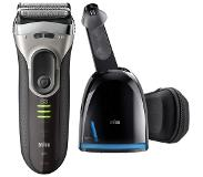 Braun Series 3 3090 - Scheerapparaat met Clean & Charge Station