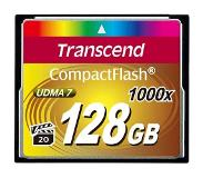 Transcend 1000x CompactFlash 128GB flashgeheugen