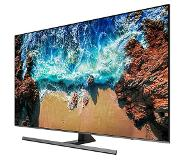 "Samsung UE55NU8070 55"" 4K Ultra HD Smart TV Wi-Fi Zwart, Zilver LED TV"