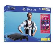 Sony PlayStation 4 Slim + FIFA 19 Zwart 500 GB Wi-Fi