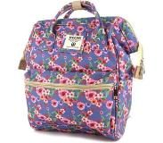 Shoesme - Messenger Bag - Rugzak / Rugtas - blue flower