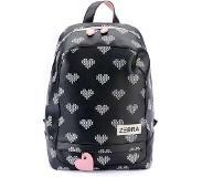 e715a9820e7 Zebra trends Kinder Rugzak L Crossed Hearts