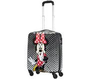 American Tourister Disney Legends Spinner 55 Alfatwist 2.0 minnie mouse polka dots Harde Koffer Zwart
