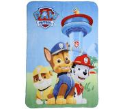 Paw Patrol Chase, Marshall en Rubble plaid 100x140cm 100% polyester
